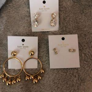 Kate Spade Earring Bundle